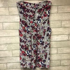 Torrid strapless empire waist dress pockets sz 2X